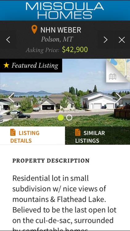 Missoulian Homes screenshot-3