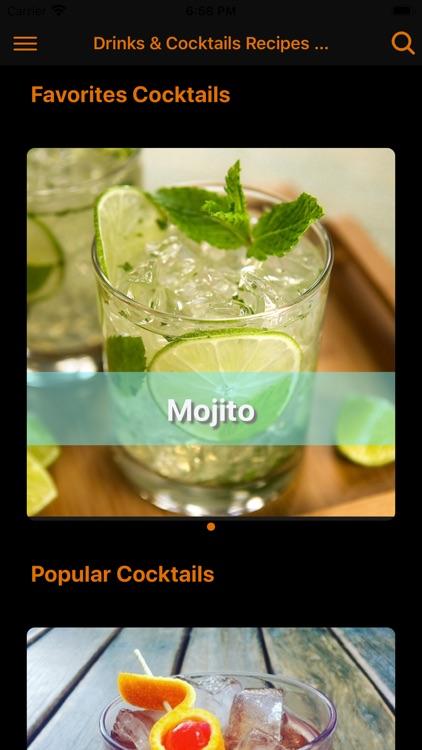 Drinks & Cocktails - PRO
