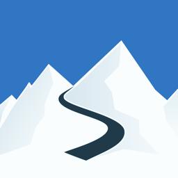 Ícone do app Slopes: Ski & Snowboard