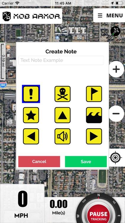 Mob Armor GPS screenshot-3