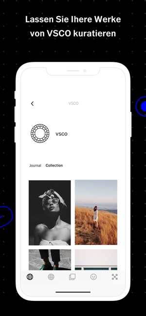 VSCO: Foto- und Video-Editor Screenshot
