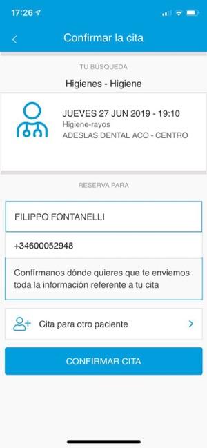 Clínica Dental Adeslas On The App Store