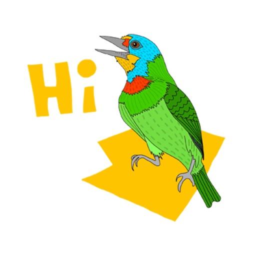 Chirpy Birds - Crayon icon