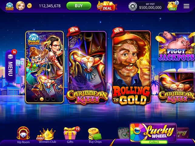 DoubleU casino mobile