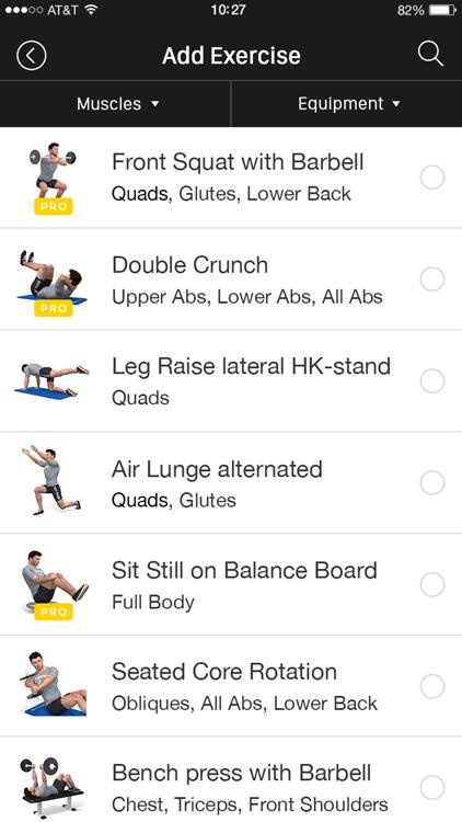 Fitness Trainer - Sportnahrung screenshot-3