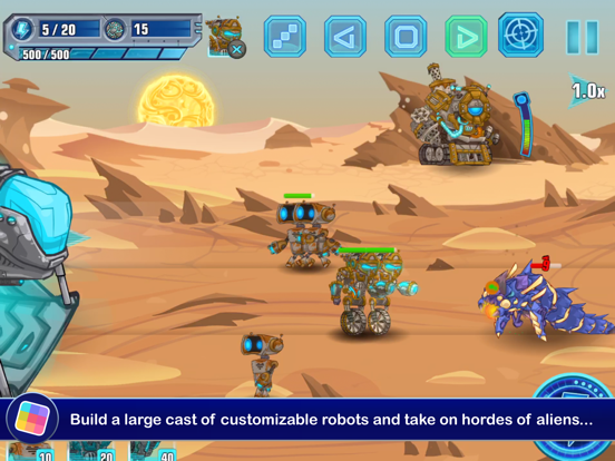 Stellar Wars - GameClub screenshot 8