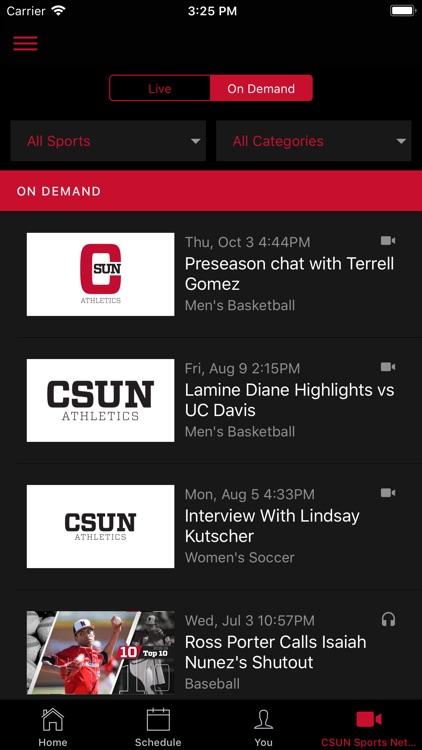 CSUN Athletics screenshot-3