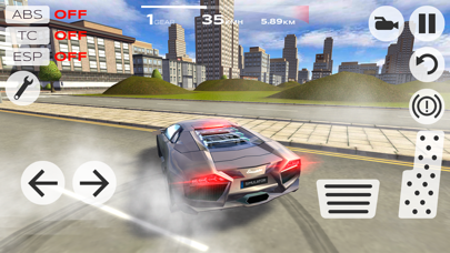 Screenshot from Extreme Car Driving Simulator