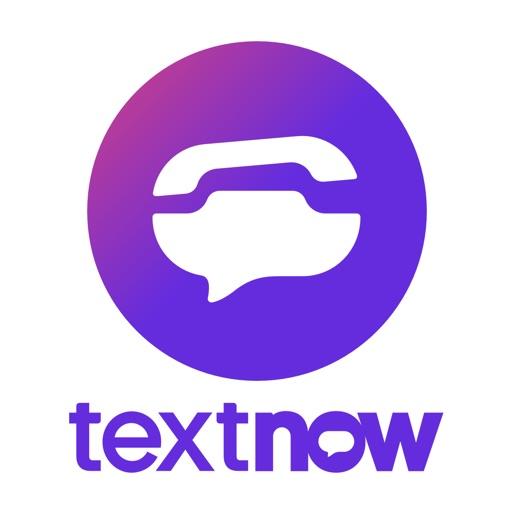 TextNow: Call + Text Unlimited app logo
