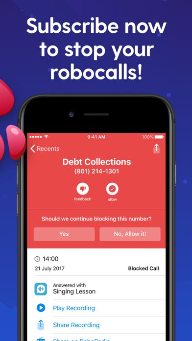 RoboKiller: Spam Call Blocker Screenshot