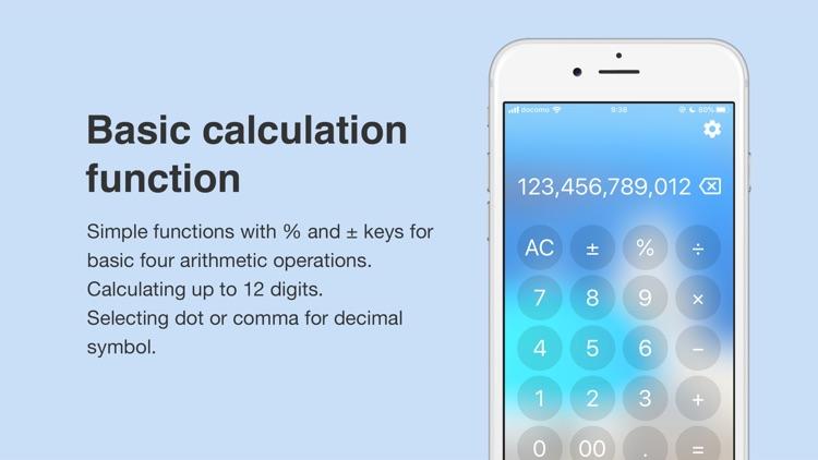 Photo Calc - Simple Calculator screenshot-3