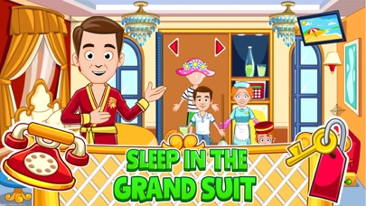 Screenshot for My Town : Hotel in United States App Store