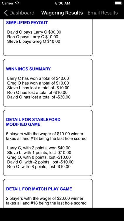 Golf Gambler screenshot-4
