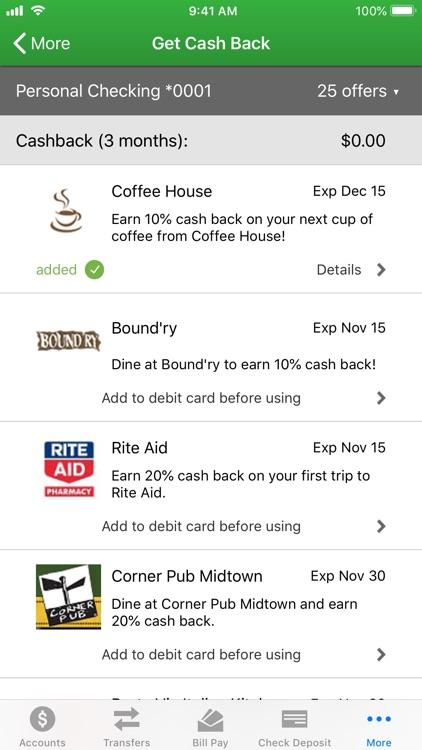 Clinton Savings Bank Mobile screenshot-6