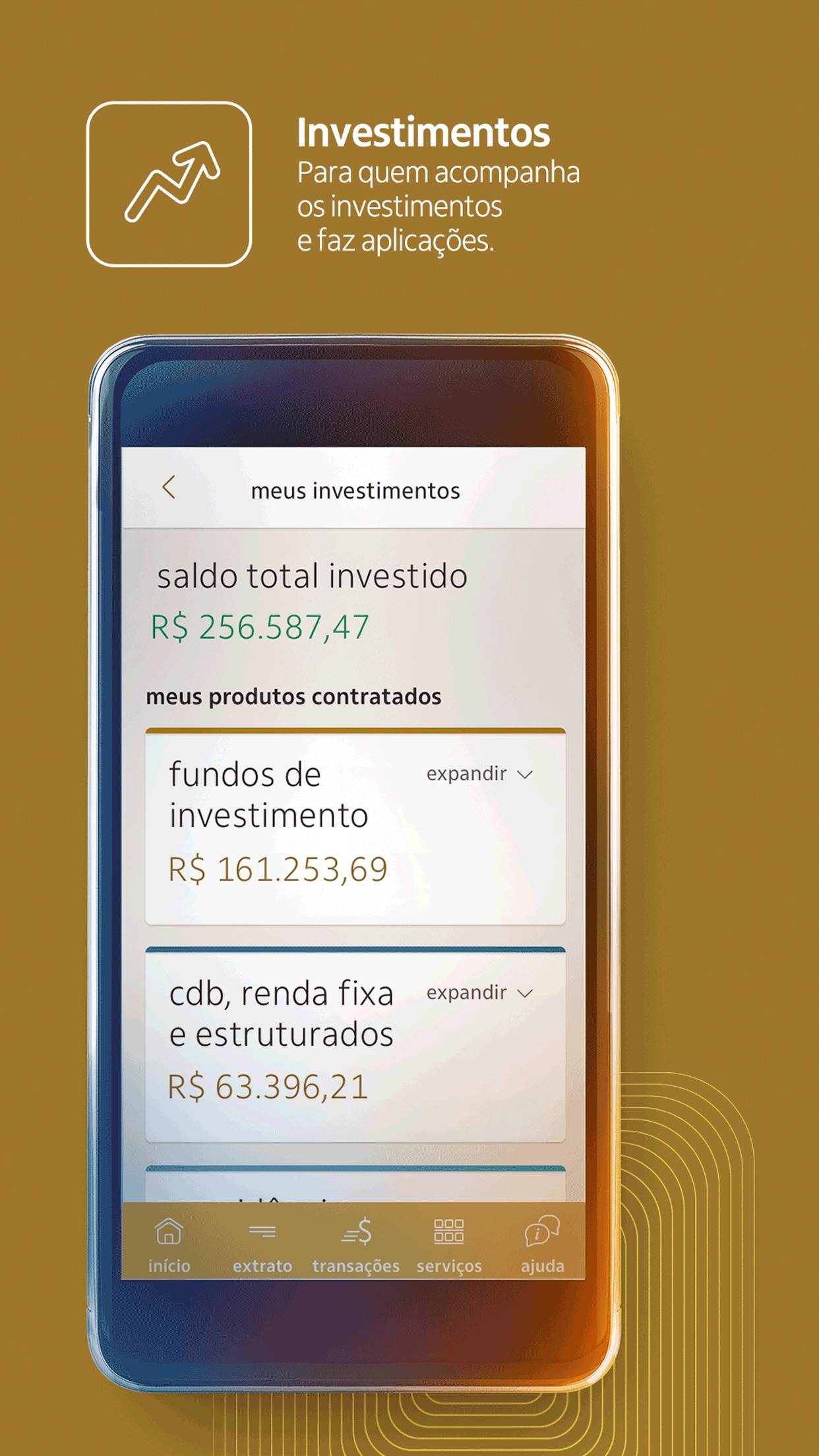 Itaú Personnalité Screenshot