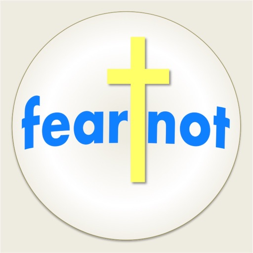 fear not stickers icon