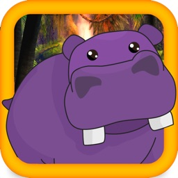 Baby Hippo Cute Zoo Escape - Animal Running game for boys and Girls