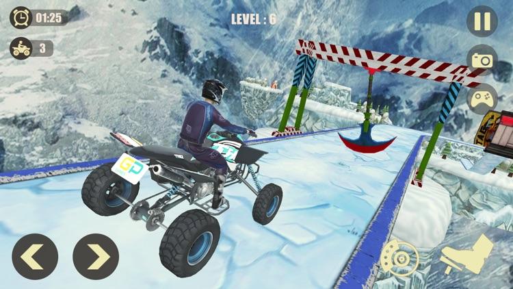 ATV Quad Bike: Mountain Stunts screenshot-3