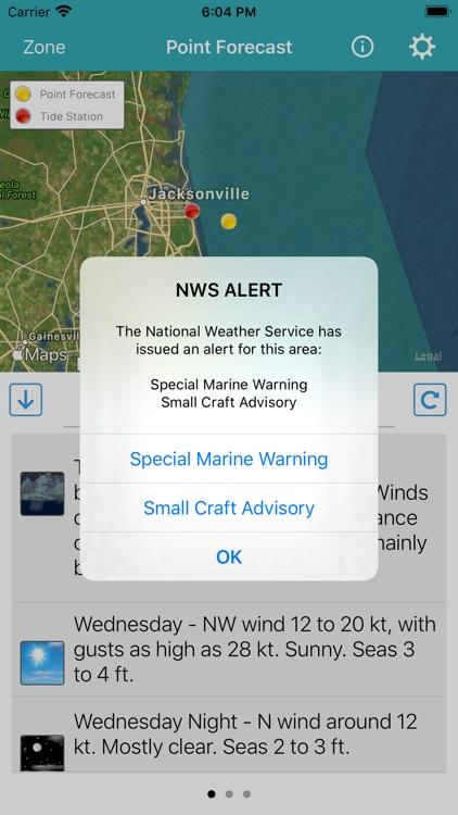 NOAA Marine Forecast & Weather screenshot-4
