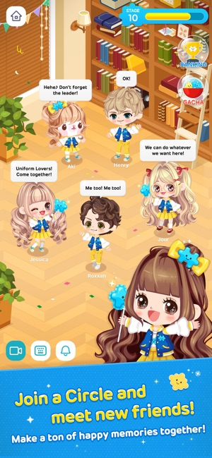 download game happy cafe mod apk