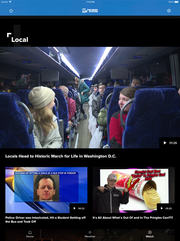 iPad Image of WNEP The News Station