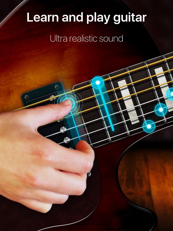 Guitar - real games & lessons screenshot 6