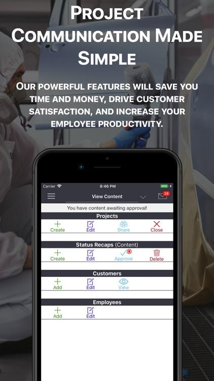 Status Recap Project Platform screenshot-3