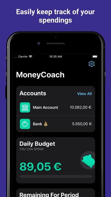 MoneyCoach Budget & Spendings