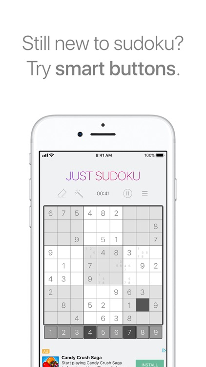 Just Sudoku - Puzzle Games screenshot-3