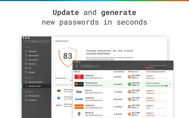 Dashlane - Password Manager on the Mac App Store