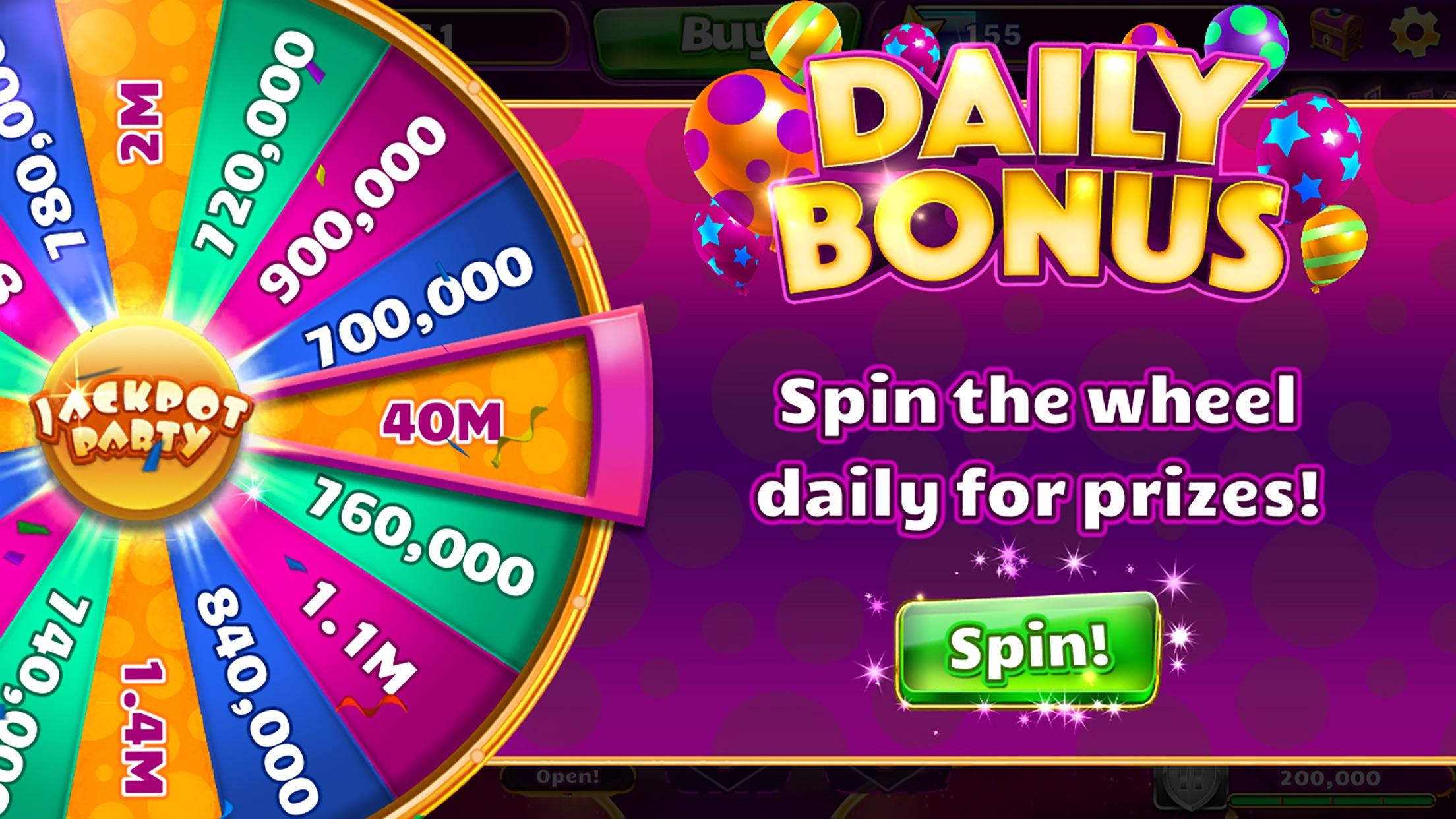 Jackpot Party - Casino Games Screenshot