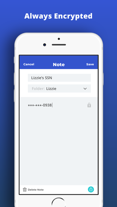 LockBox - My Secure Notes Screenshot