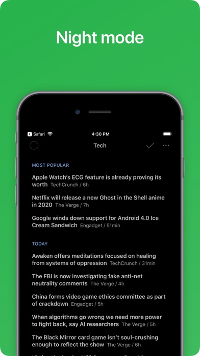 Feedly - Smart News Reader ScreenShot5