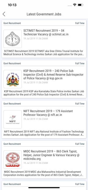 Jobscafe Govt Jobs Alerts On The App Store