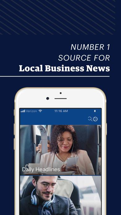 Atlanta Business Chronicle review screenshots