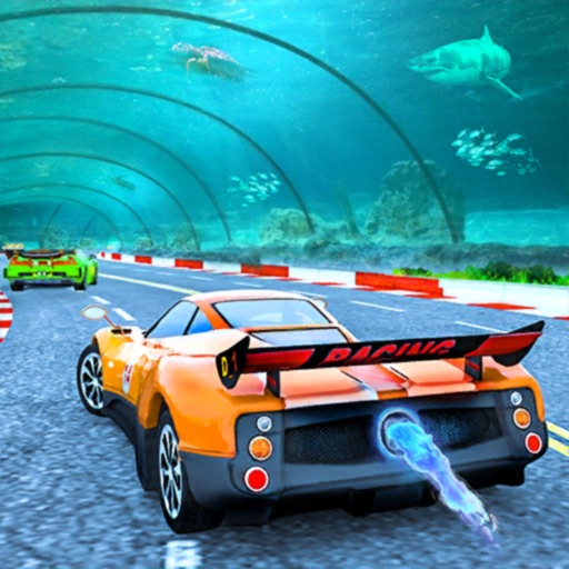 Underwater Racing Tunnel Car