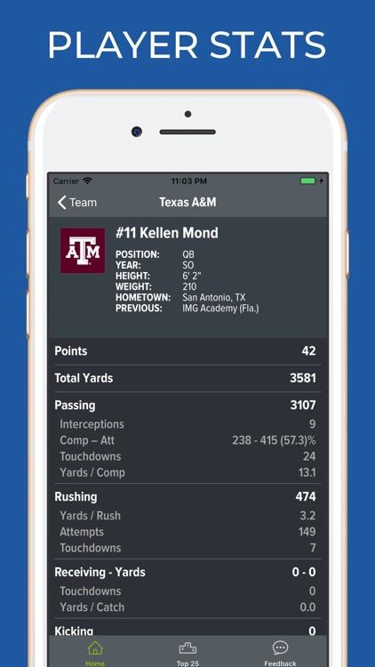 Texas A&M Football Schedules screenshot-3