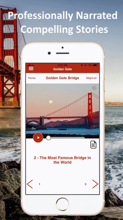 Golden Gate Bridge SF Tour screenshot-3