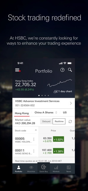 HSBC HK Easy Invest on the App Store
