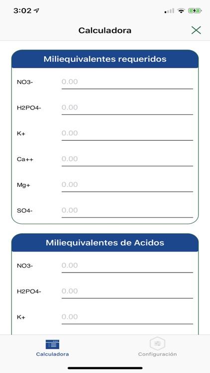 Bioteksa Cálculo Nutricional
