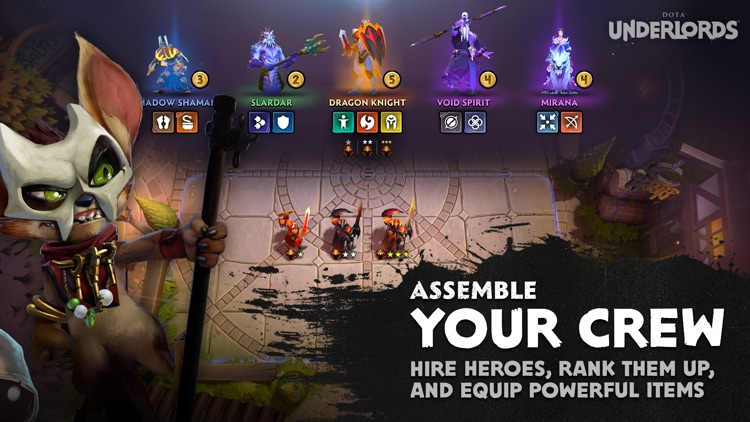 Dota Underlords screenshot-1
