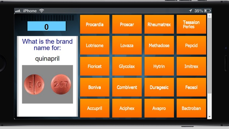 Top 200 Drug Matching Game