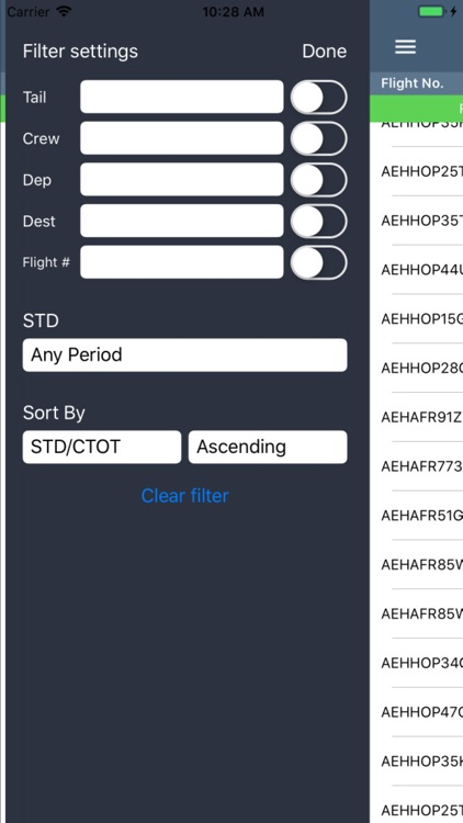CrewBriefing App screenshot-2