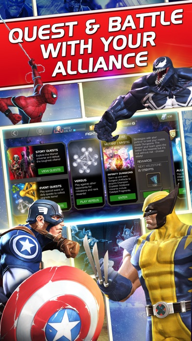 Marvel Contest Of Champions App Reviews - User Reviews of