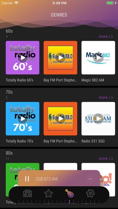 Screenshot for Australia Radio - Live FM Play in Israel App Store