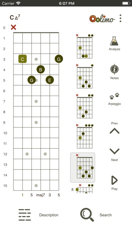 Oolimo Guitar Chords screenshot-4