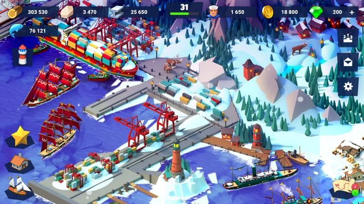 Sea Port: Ship Tycoon Strategy screenshot-4