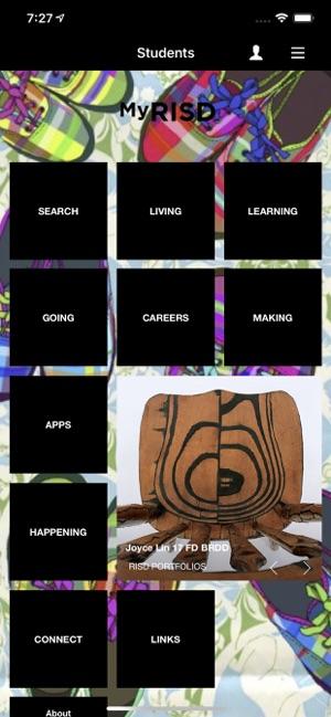 My RISD on the App Store