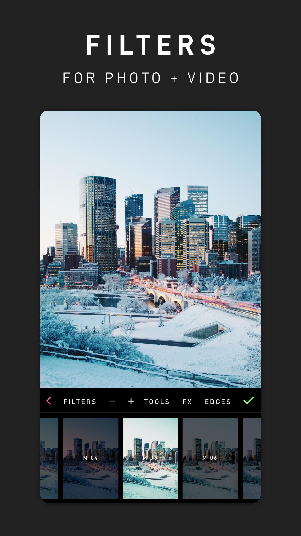 Screenshot do app PICFX ~ Edit Photo & Video