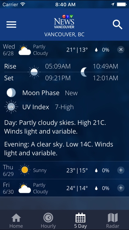 Weather Watch by CTV Vancouver screenshot-3